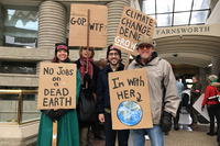 Science & Climate Control Support Demo, Detroit, April 29, 2017