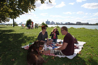 PICNIC SUPPER ON BELLE ISLE 2011